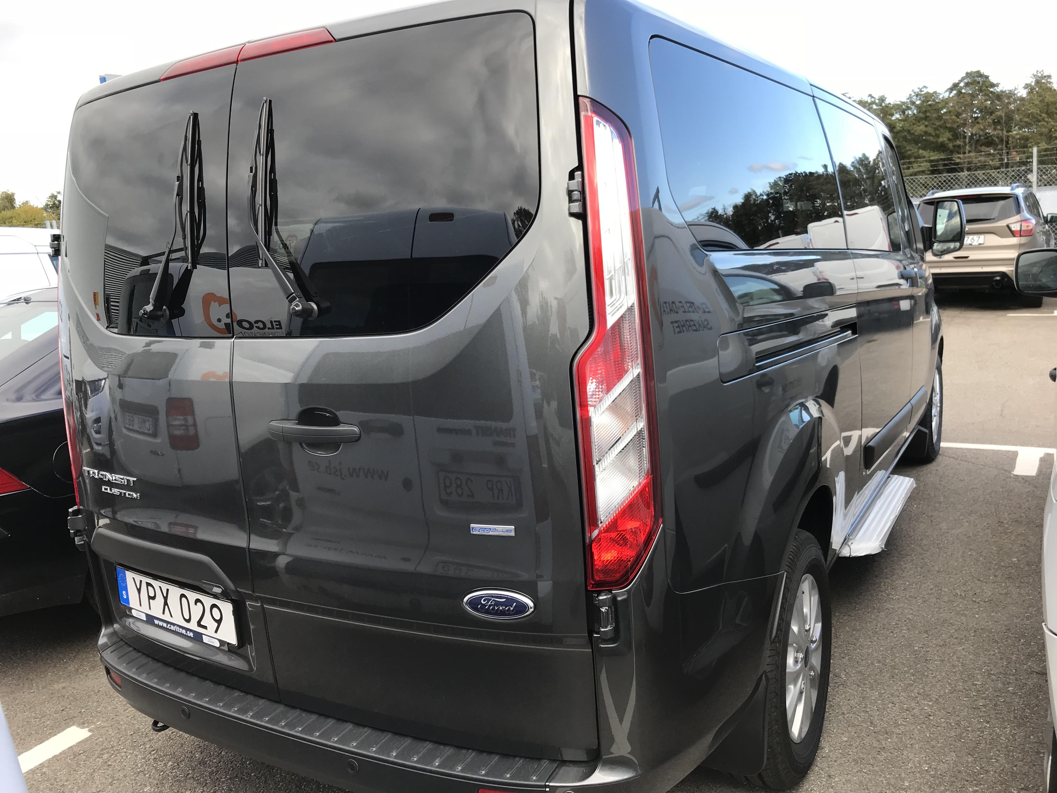 Limmo bussen - Bak